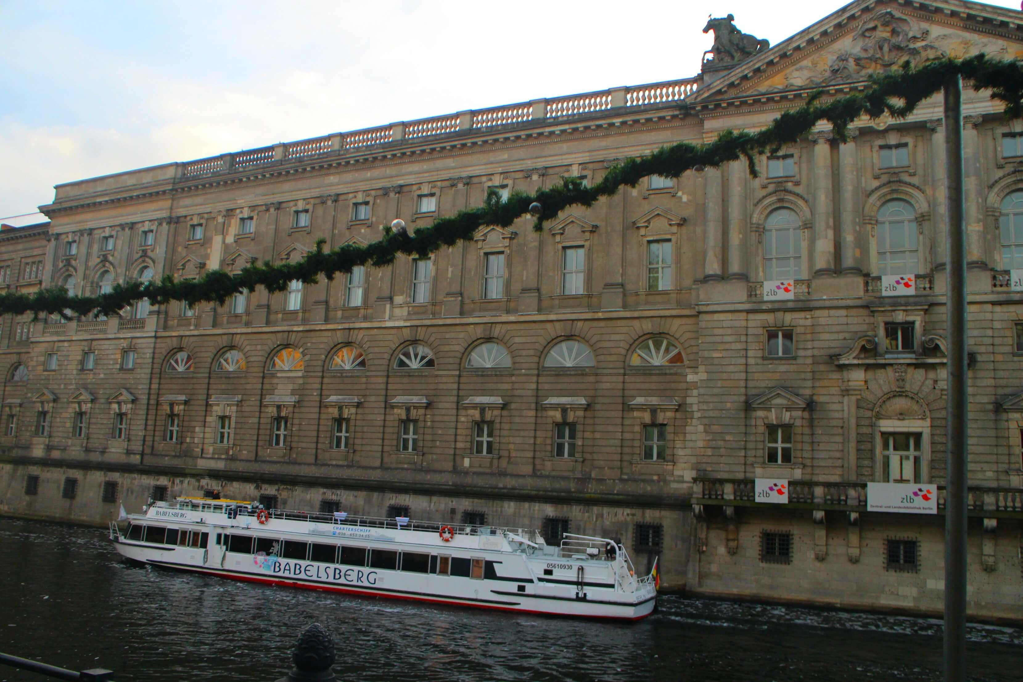 Boottocht door Berlijn