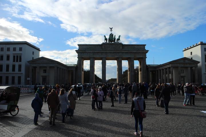 Ontwerp van de Brandenburger Toren