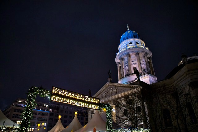 kerstmarkten in Berlijn