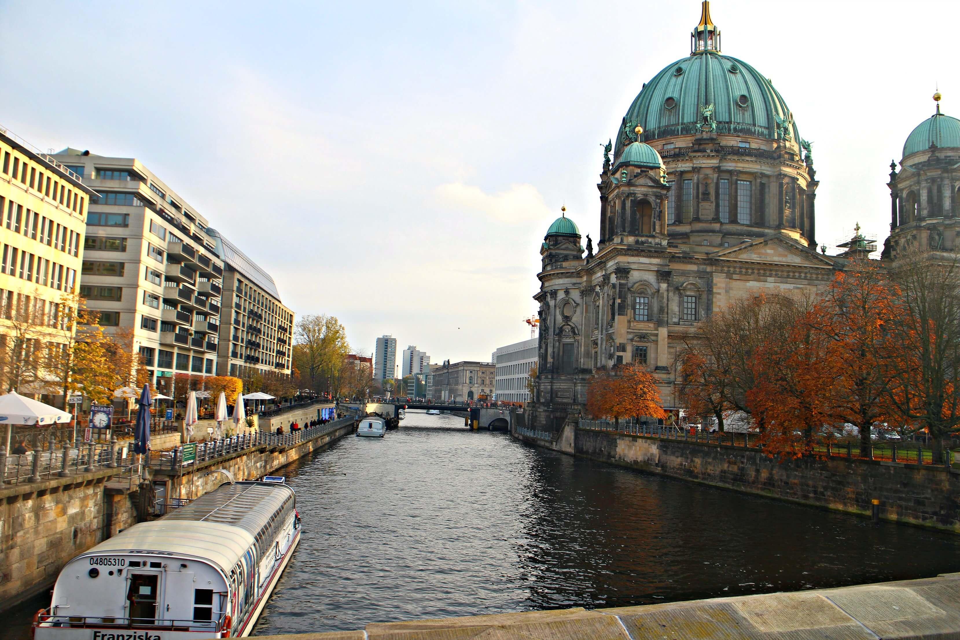 Uitzicht op de Berliner Dom