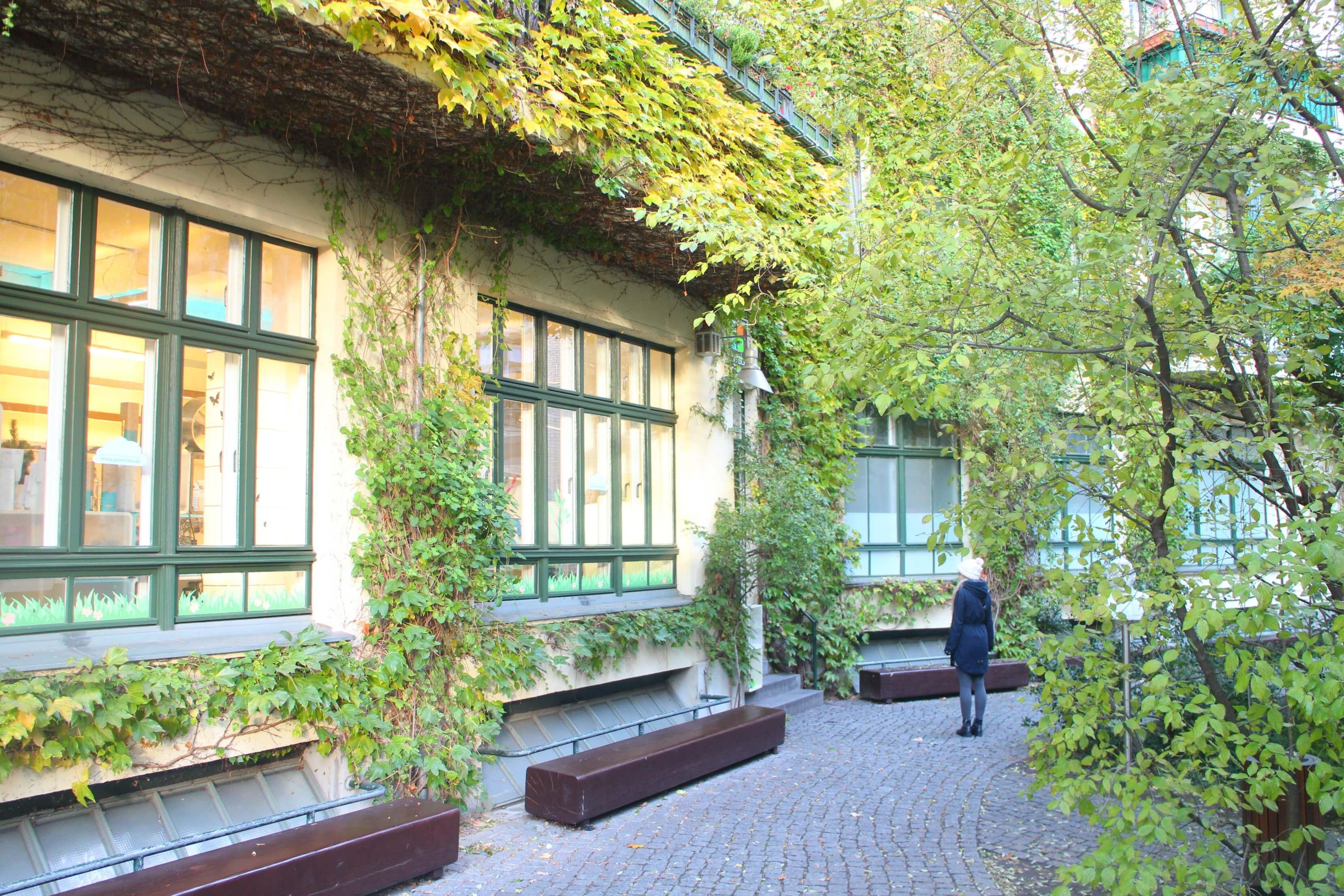 Hackesche Höfe in de herfst