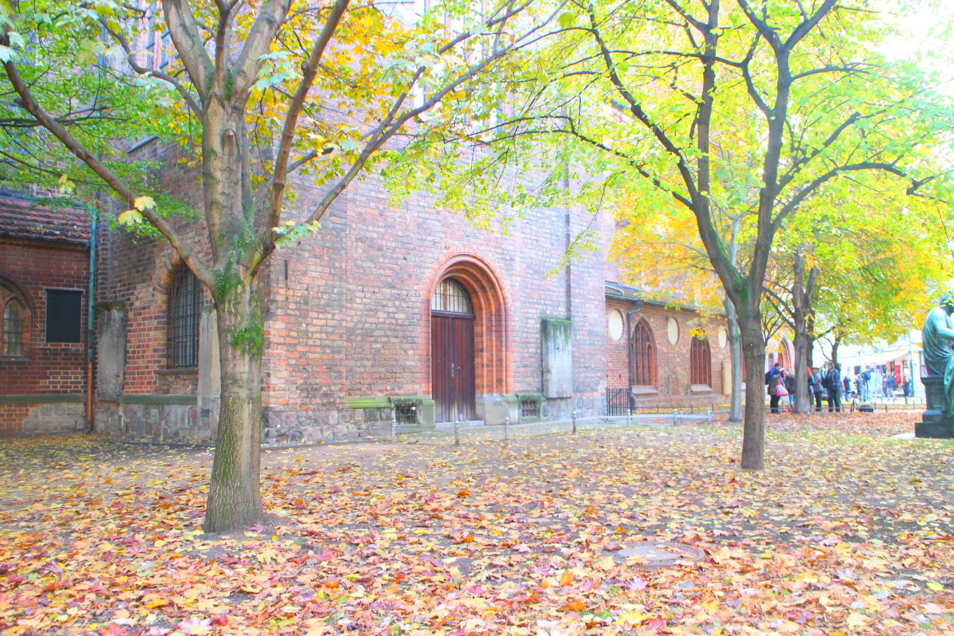 Nikolaiviertel in de herfst