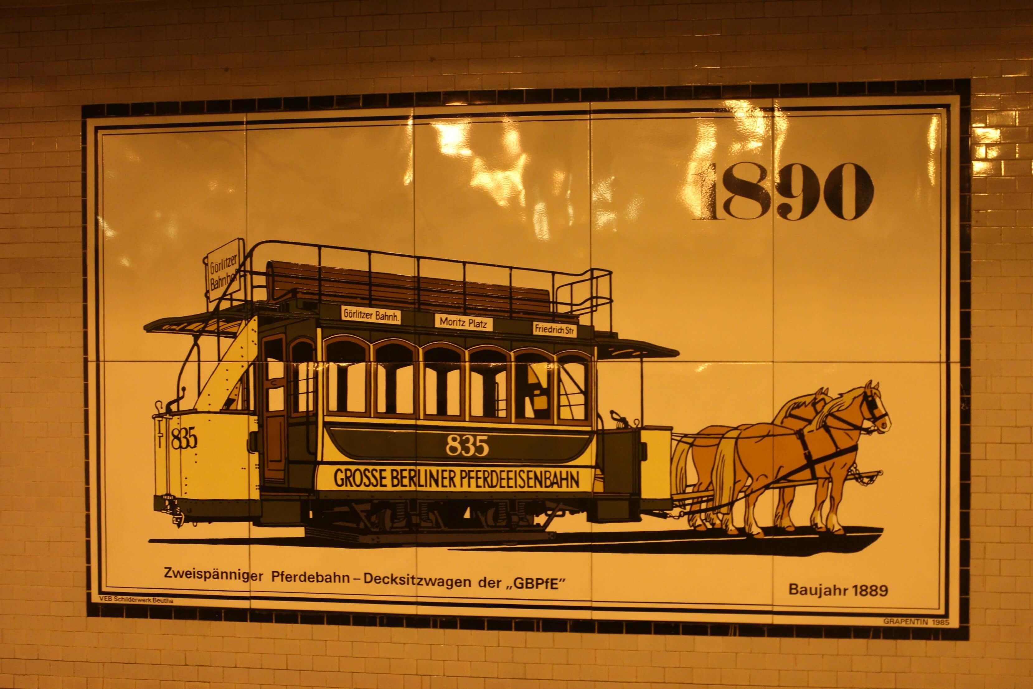 Openbaar vervoer Berlijn 1890