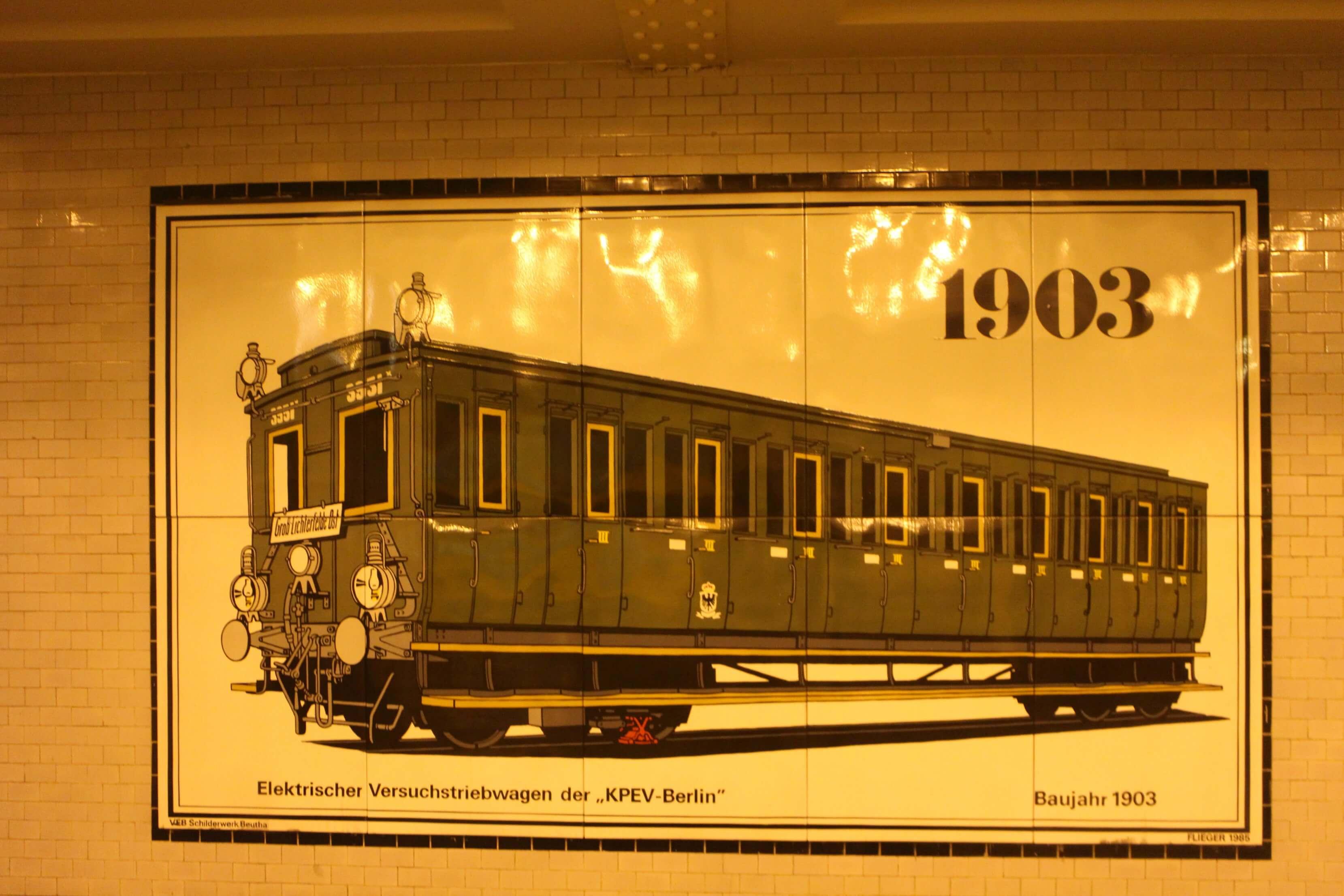Openbaar vervoer Berlijn 1903