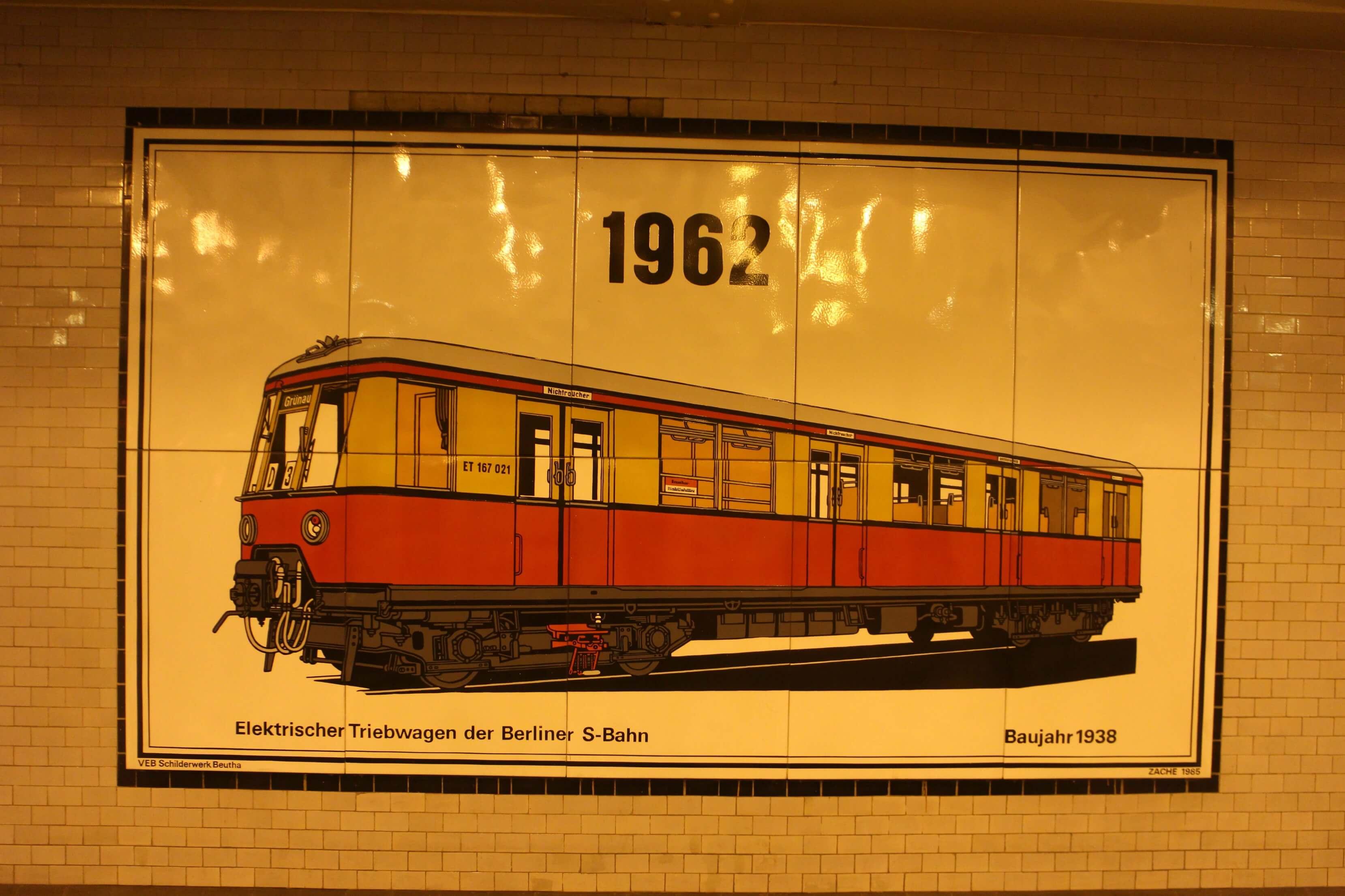 Openbaar vervoer Berlijn 1962