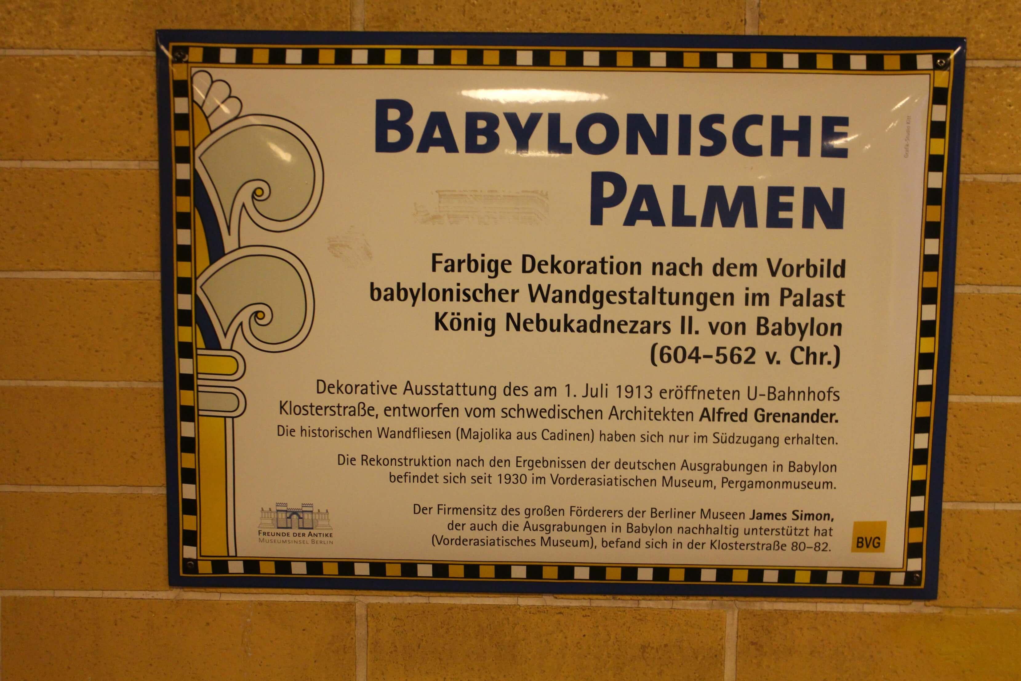 Babylonische Palmen
