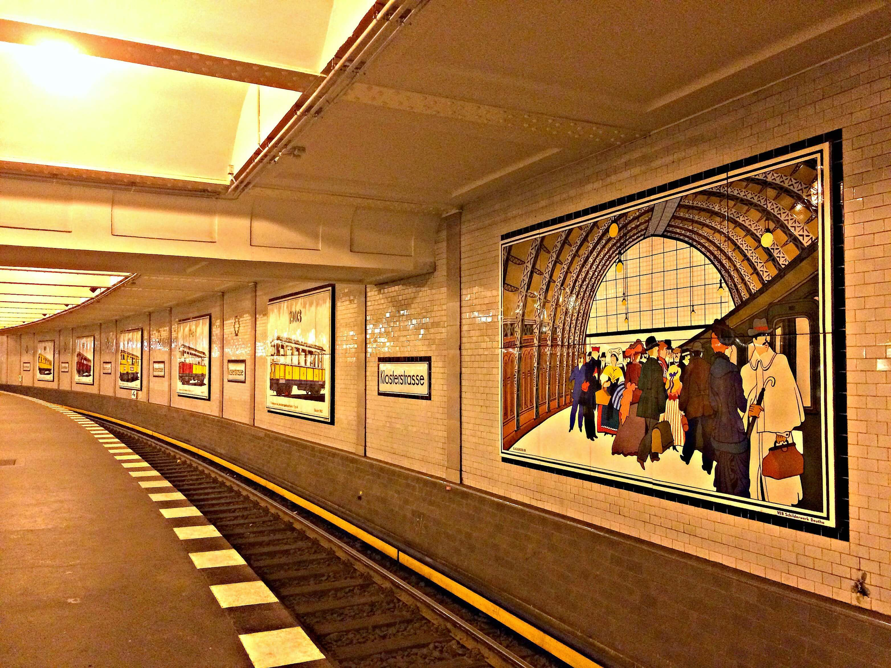 Metrostation Klosterstraße