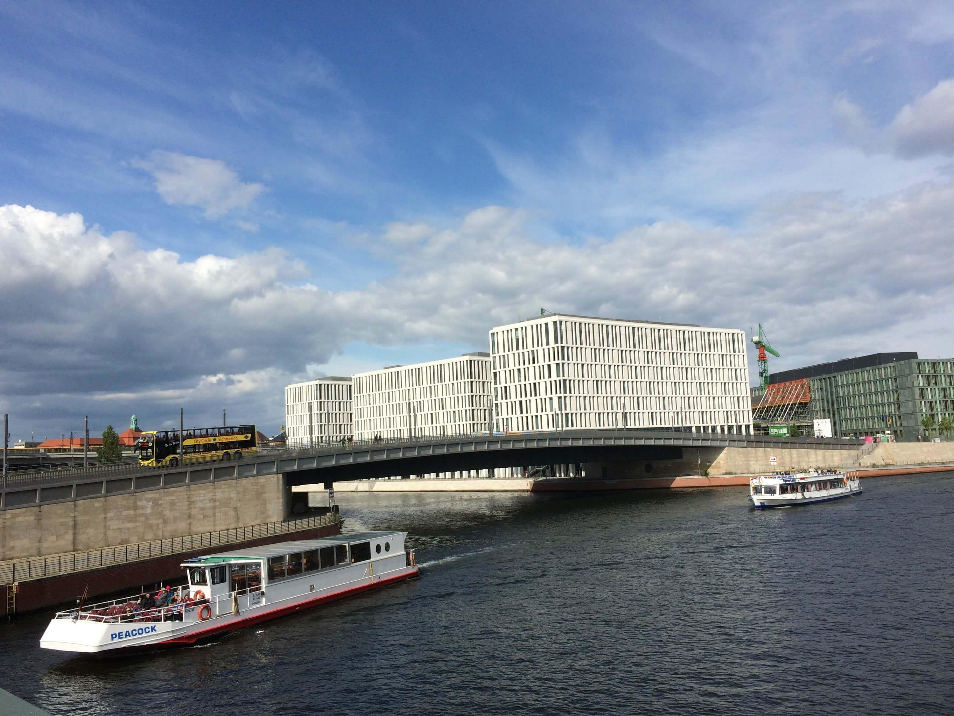 Rondvaart door Berlijn