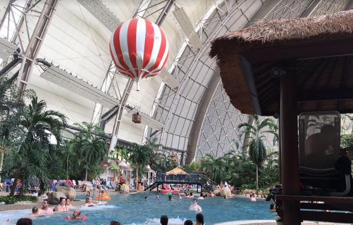 Luchtballon Tropical Island