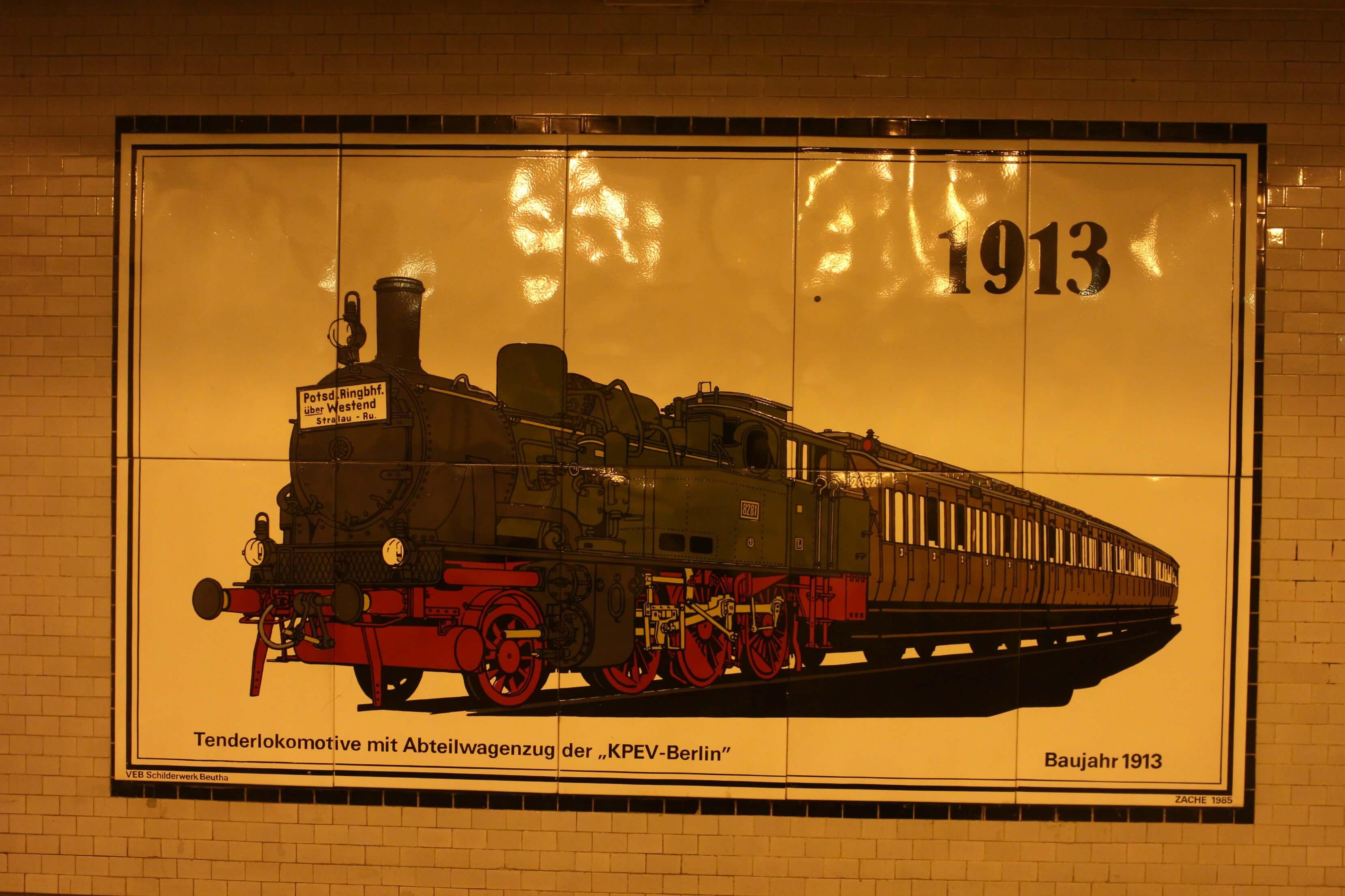 Openbaar vervoer Berlijn 1913