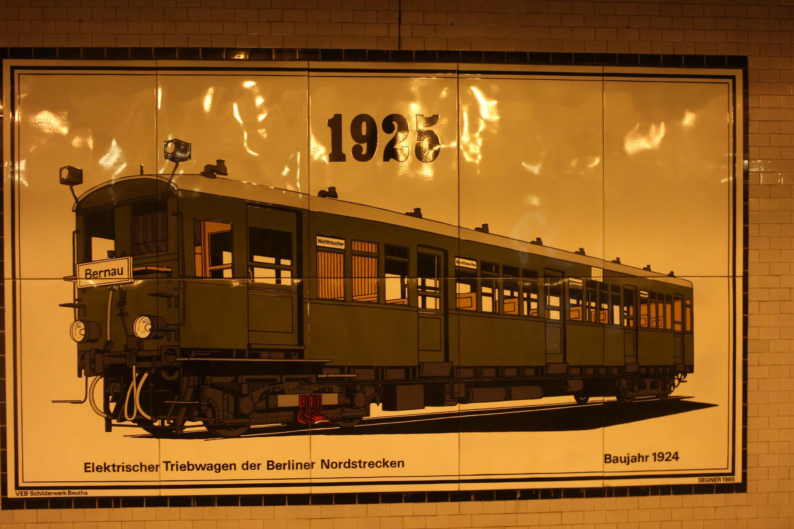 Openbaar vervoer Berlijn 1925