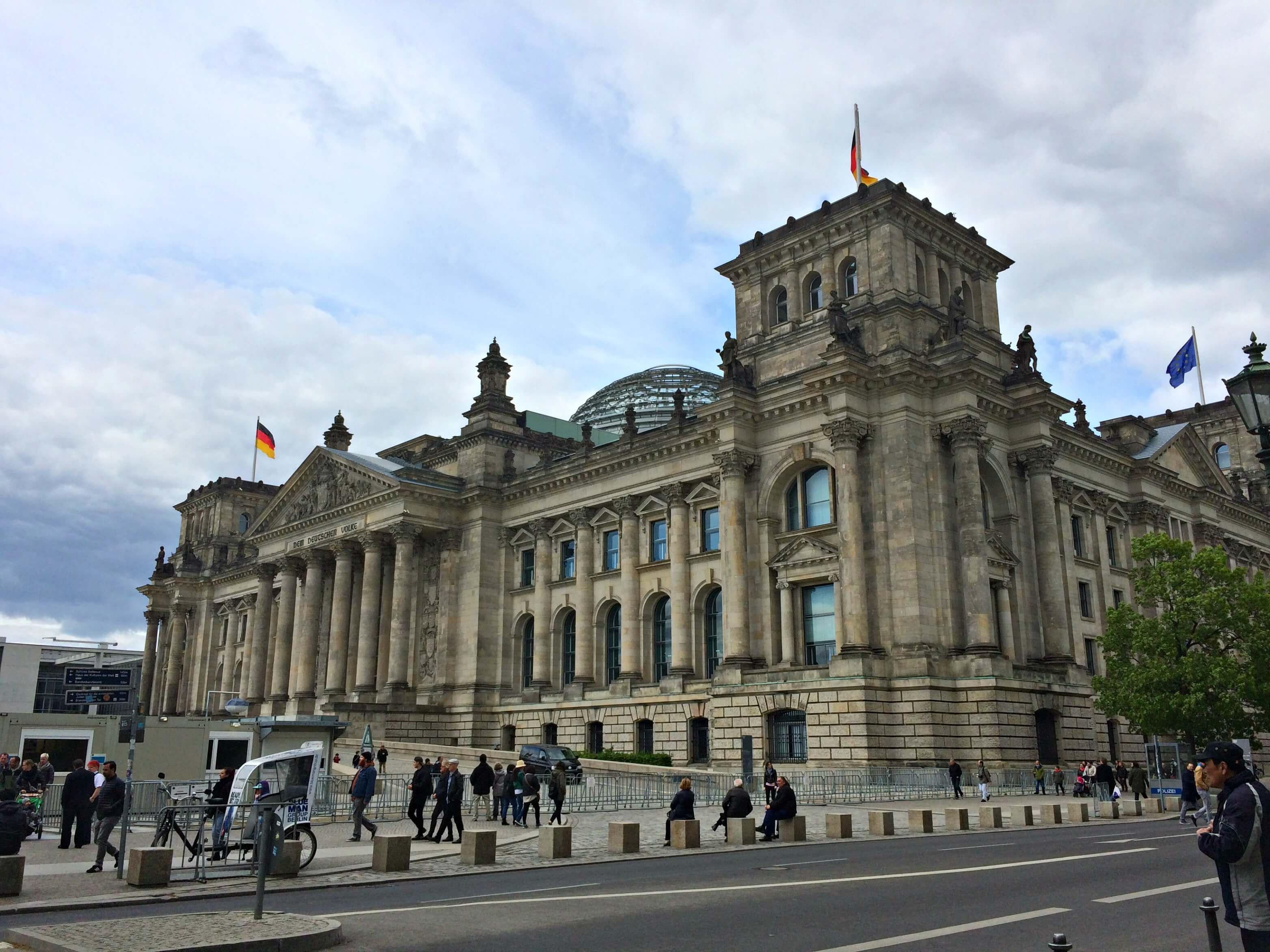 Parlement in Berlijn