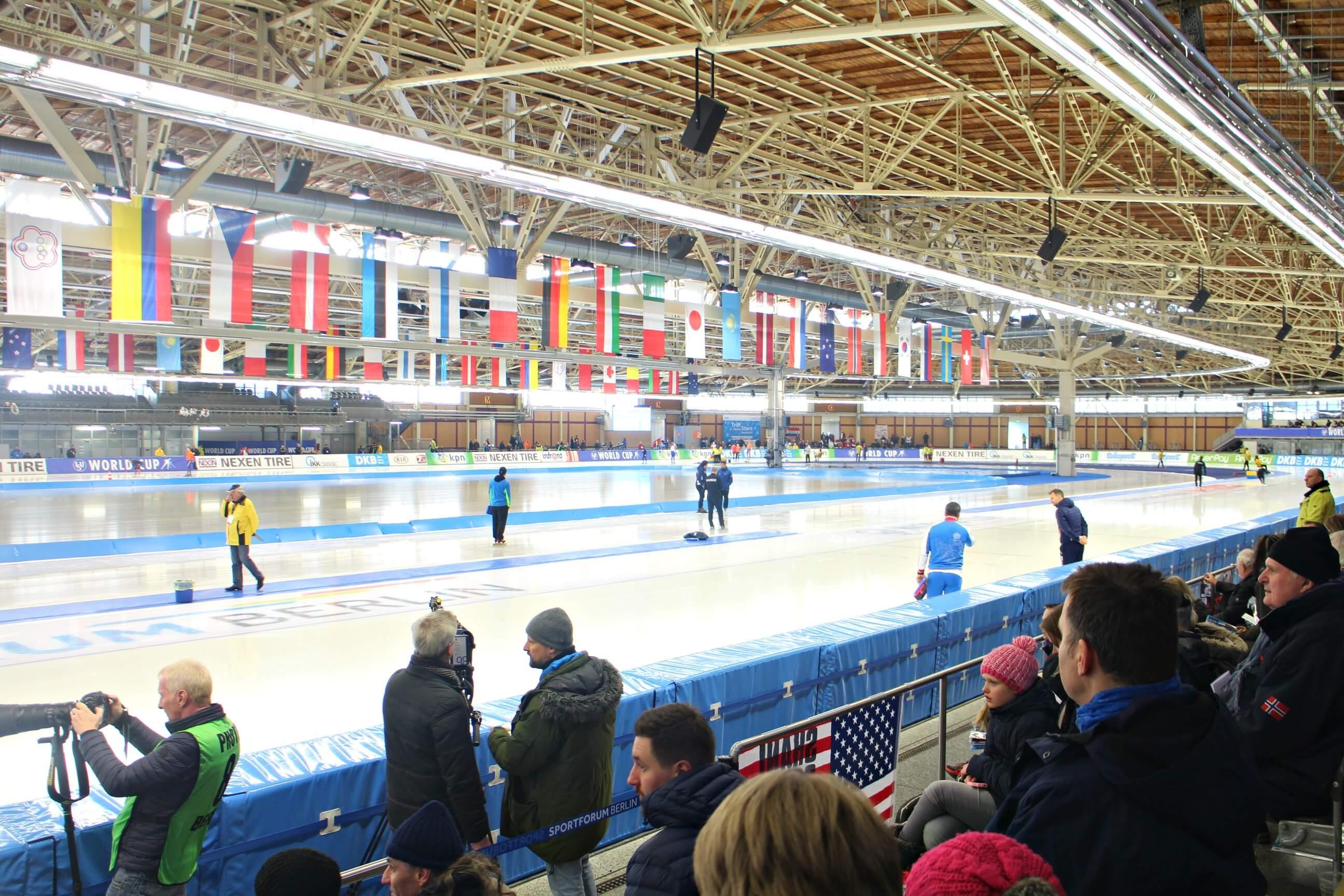 IJsbaan Sportforum Hohenschönhausen