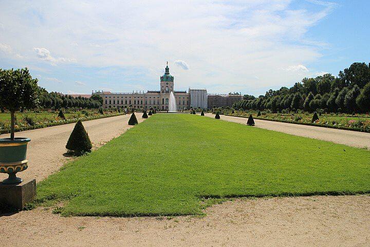 Slot Charlottenburg tuin