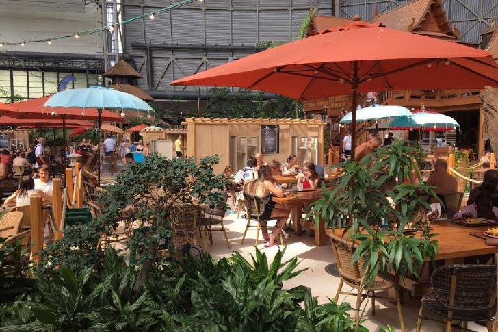 Restaurants Tropical Island